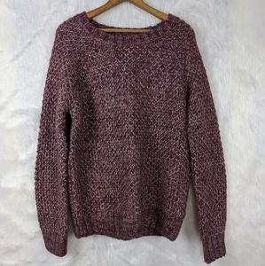 Forever 21 plum sweater